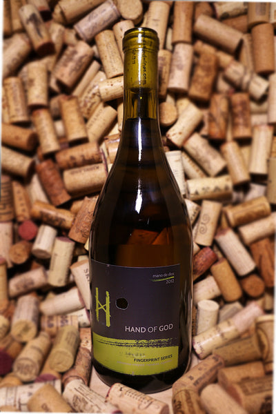 Hand of God Fingerprint Series White Blend, Mendoza, Argentina 2012