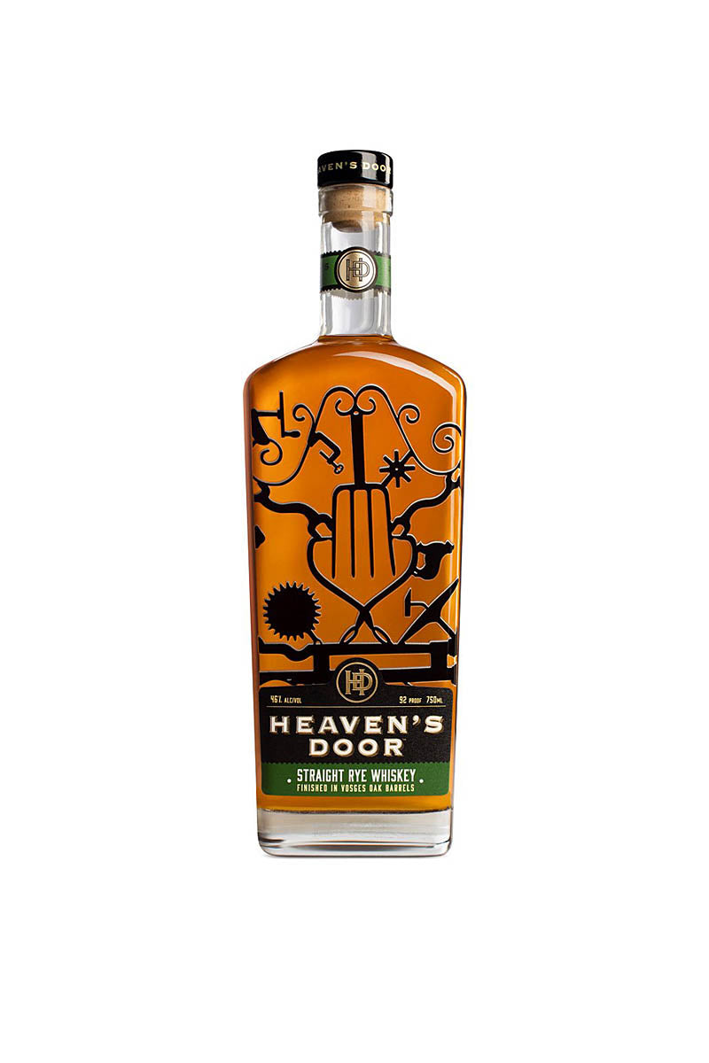 Heaven's Door Tennessee Straight Rye 750mL