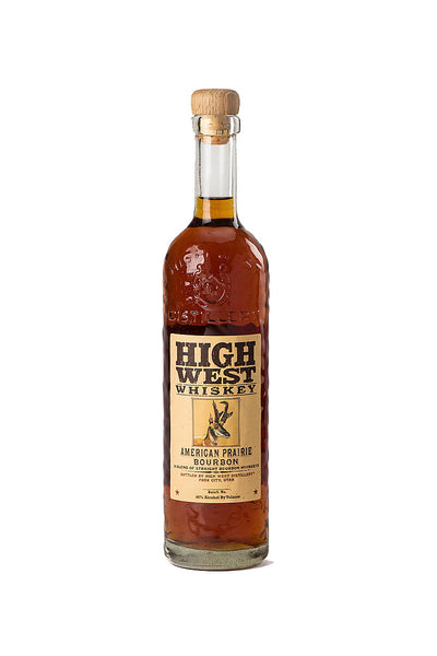High West American Prairie Bourbon, Park City, UT 750 mL