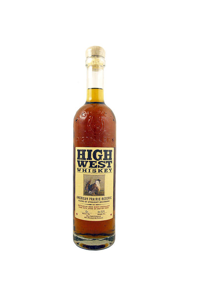 High West American Prairie Bourbon, Park City, UT 375 mL - The Corkery Wine & Spirits