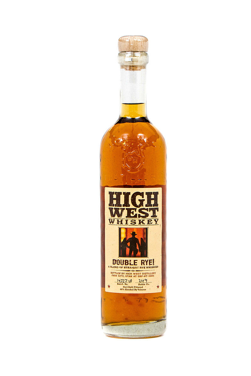 High West Double Rye Whiskey, Park City, UT 750mL - The Corkery Wine & Spirits