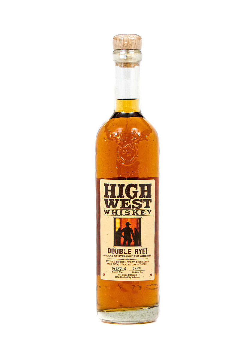 High West Double Rye Single Barrel Select #3927 106 Proof Park City, UT