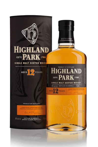 Highland Park 12 Year Old Orkney Scotch