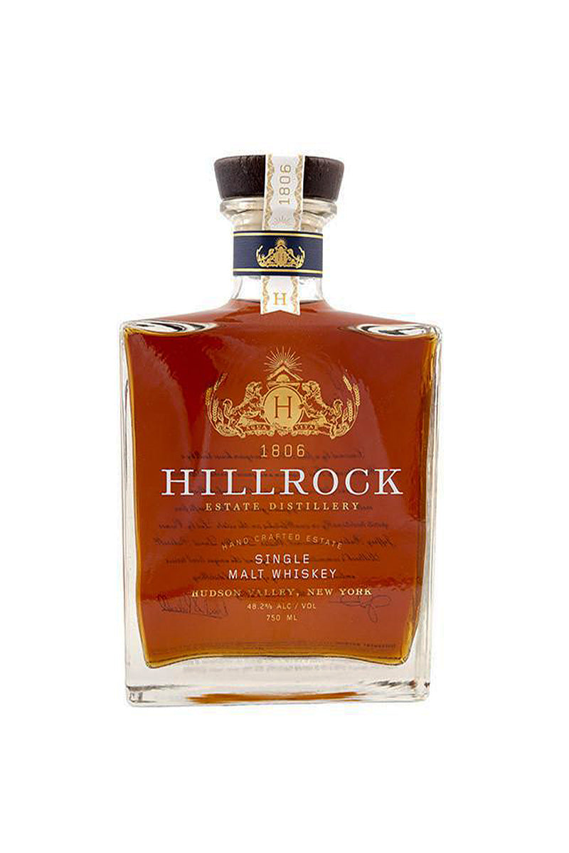 Hillrock Single Malt Whiskey, Hudson Valley, NY 750mL - The Corkery Wine & Spirits
