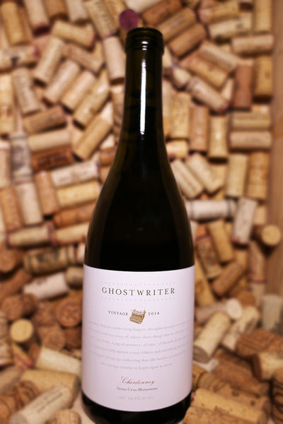 Hobo Wine Company, Ghostwriter Chardonnay, Santa Cruz Mountains, CA 2014