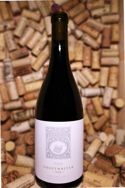 Hobo Wine Company, Ghostwriter Syrah, Santa Cruz Mountains, CA 2014 - The Corkery Wine & Spirits