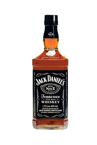 Jack Daniel's Old No.7, Tennessee Whiskey 1 Liter - The Corkery Wine & Spirits