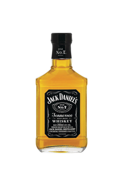 Jack Daniel's Old No.7, Tennessee Whiskey 200mL