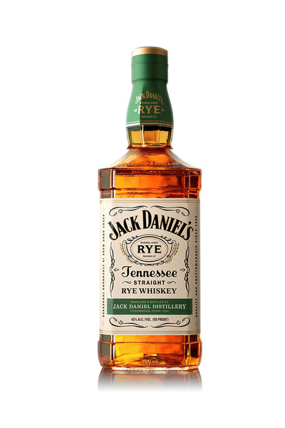 Jack Daniel's Tennessee Straight Rye Whiskey, 1 Liter - The Corkery Wine & Spirits