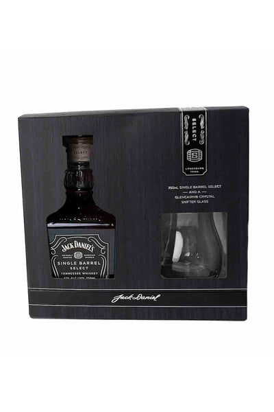 Jack Daniel's Single Barrel Select Tennessee Whiskey (gift set with a Snifter Glass) 750mL