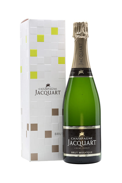 Jacquart Champagne Brut Mosaique NV France Gift Box