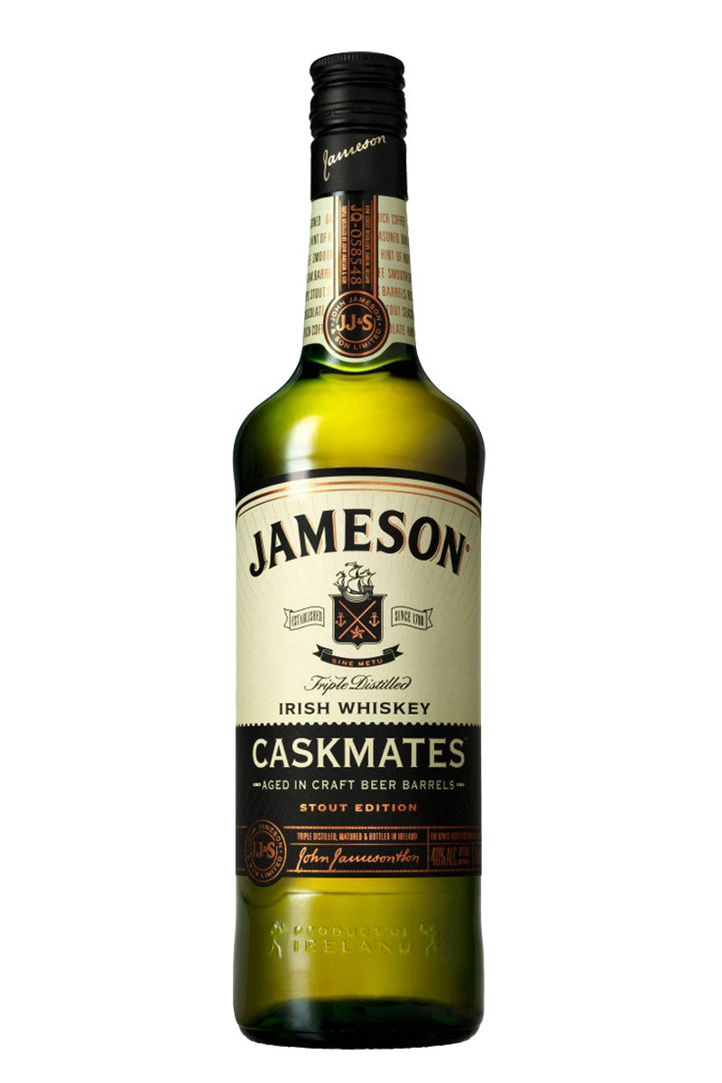 Jameson Caskmates Stout, Irish Whiskey 750mL - The Corkery Wine & Spirits