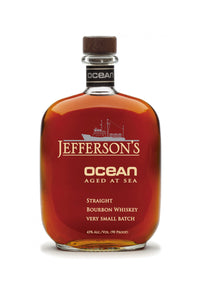 Jefferson's Ocean Aged at Sea Voyage 12 Very Small Batch, Kentucky, 750 mL - The Corkery Wine & Spirits