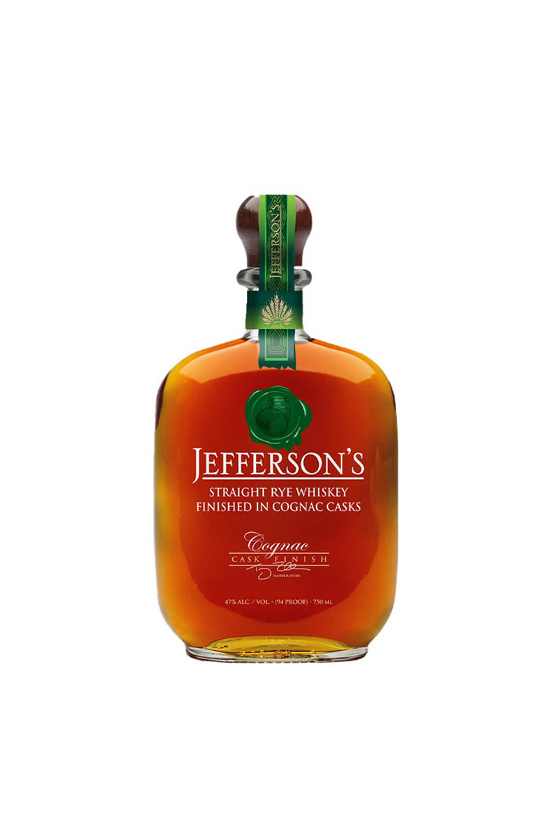 Jefferson's Straight Rye Finished in Cognac Casks, Kentucky 750mL