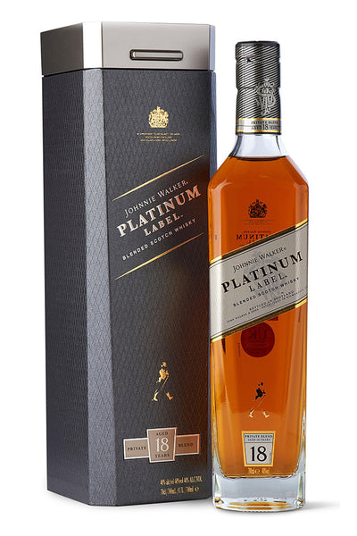 Johnnie Walker Platinum 18 Yr Blended Scotch Whiskey