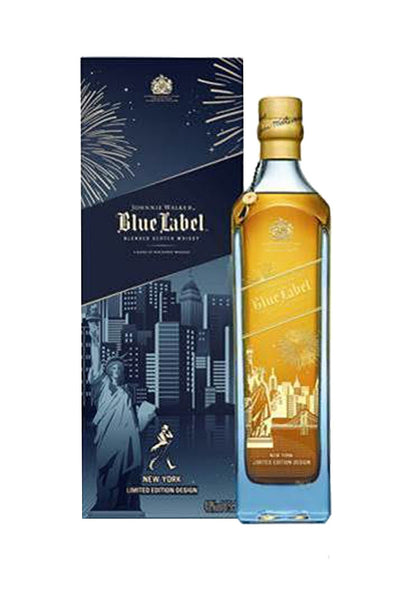 Johnnie Walker Blue Label New York Skyline Edition, Blended Scotch Whiskey 750mL - The Corkery Wine & Spirits