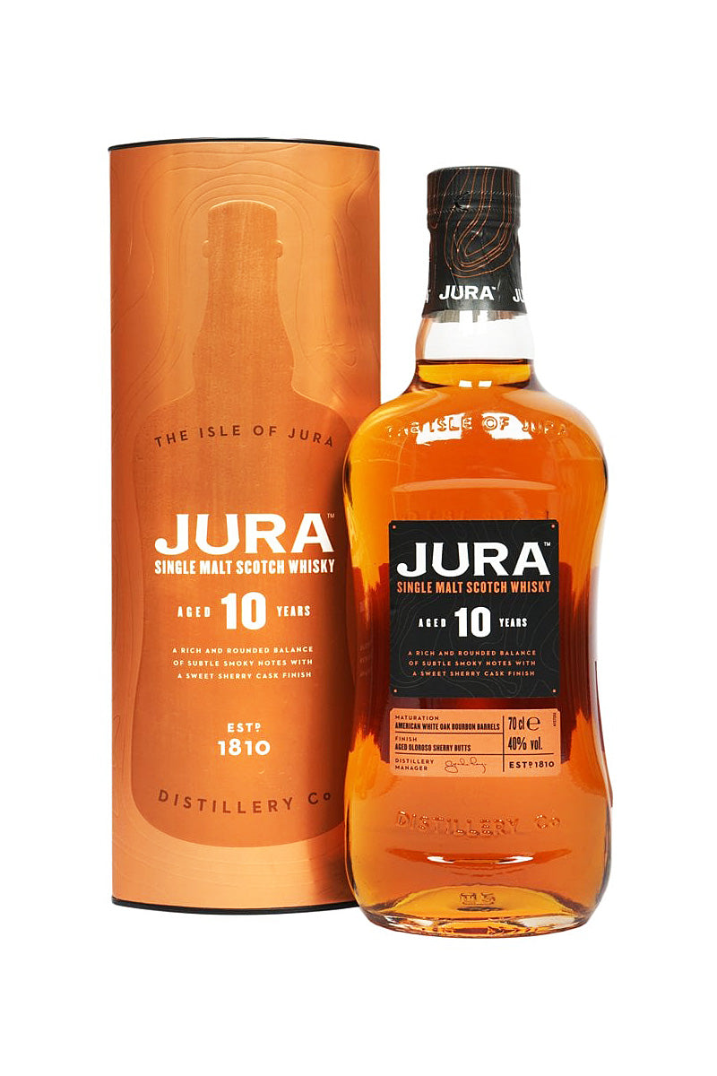Isle of Jura 10 Year Old Single Malt Scotch 750mL