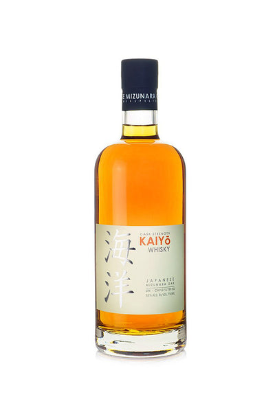 Kaiyo Whisky Mizunara Oak, Cask Strength, Japan 750mL