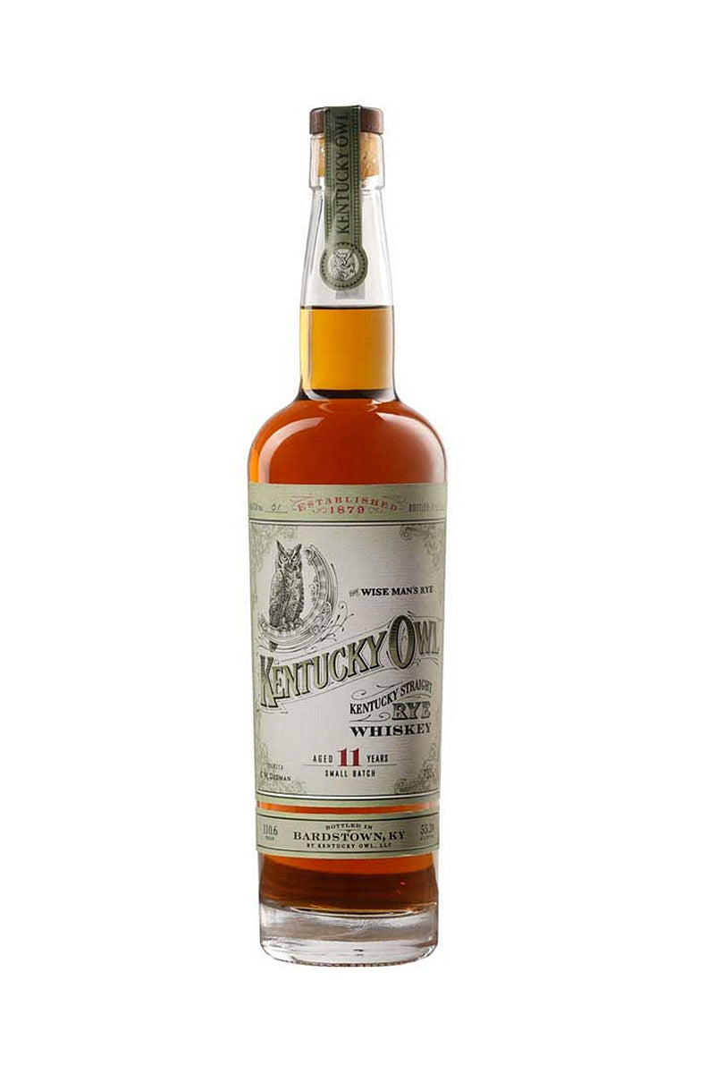 Kentucky Owl, Straight Rye Whiskey 11 Year, Kentucky 750mL 101,8 Proof