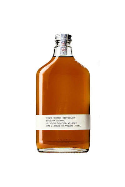Kings County Distillery, Bottle-in-bond Straight Bourbon, Brooklyn, NY 100 Proof 375mL