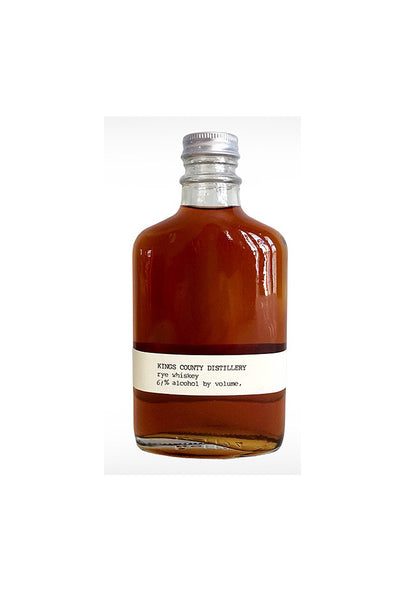 Kings County Distillery, Straight Rye Whiskey, Brooklyn, NY 102 Proof 375mL