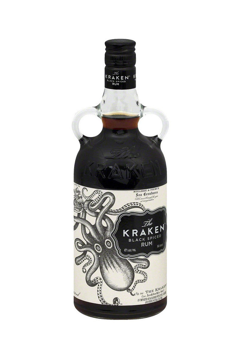 Kraken Caribbean Black Spiced Rum 750mL - The Corkery Wine & Spirits