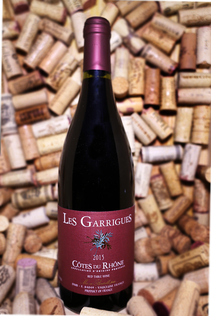 Les Garrigues Cotes du Rhone France 2016 - The Corkery Wine & Spirits