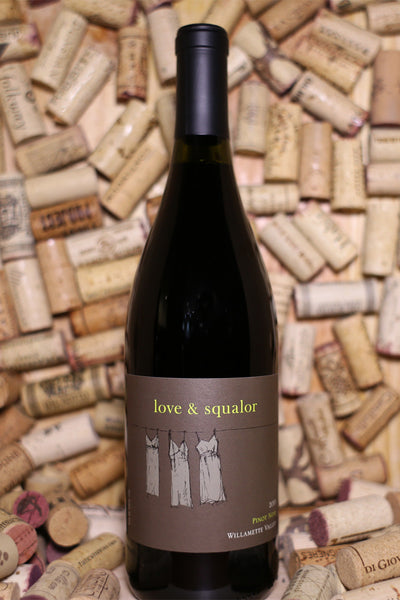 Love & Squalor Pinot Noir Willamette Valley, OR 2014