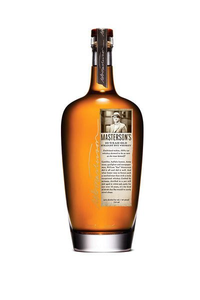 Masterson's 10 Year Old Rye Whiskey, Canada 750mL