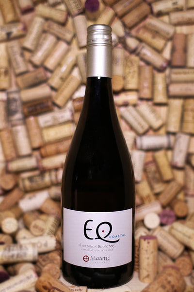 Matetic Vineyard EQ Coastal, Sauvignon Blanc Casablanca Valley, Chile 2015