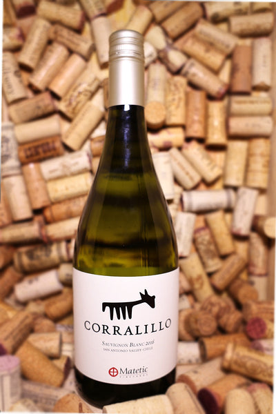 Matetic Vineyards, Corralillo Sauvignon Blanc, San Antonio Valley, Chile 2016 - The Corkery Wine & Spirits