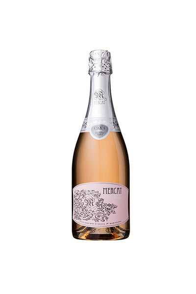 Mercat Cava Brut Rose NV, Catalonia, Spain