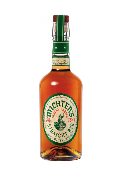 Michter's US 1 Single Barrel Straigh Rye Whiskey, Kentucky 750mL - The Corkery Wine & Spirits