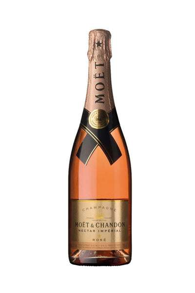 Moet & Chandon Nectar Imperial Rose Champagne France NV 750mL - The Corkery Wine & Spirits