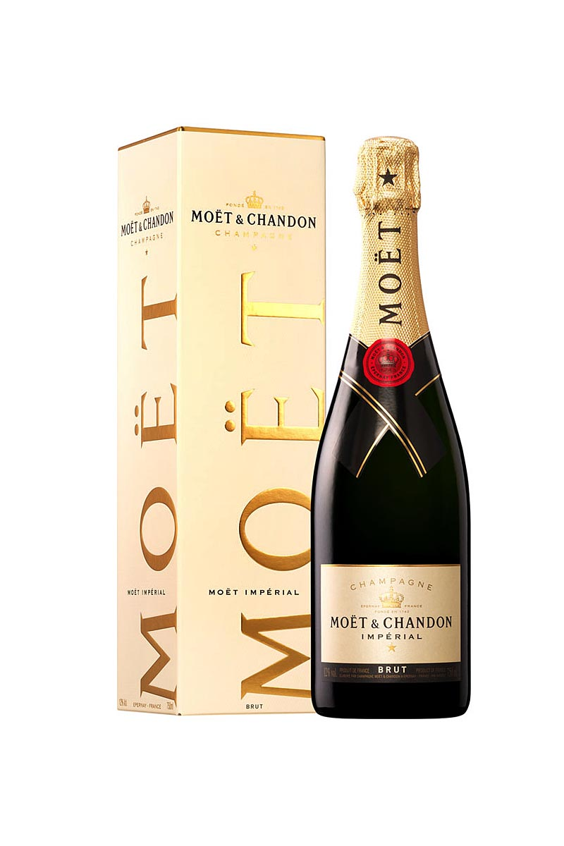 Moet & Chandon Imperial Brut Champagne France NV 750mL