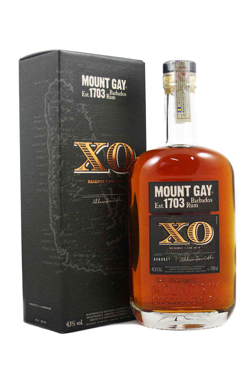 Mount Gay Rum XO Reserve Cask, Barbados 750mL - The Corkery Wine & Spirits
