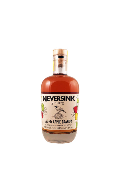 Neversink Spirits Aged Apple Brandy, New York 375mL - The Corkery Wine & Spirits