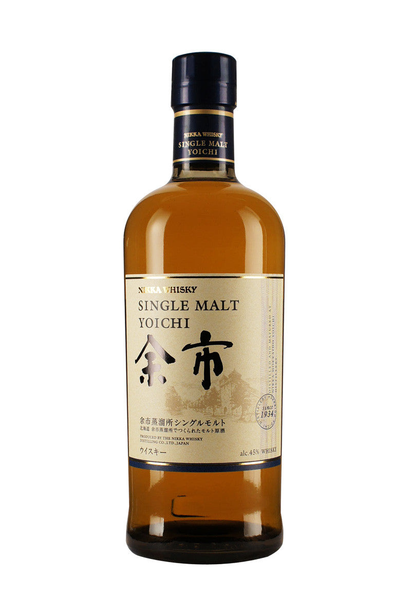 Nikka Yoichi Single Malt Japanese Whisky, Japan 750 mL - The Corkery Wine & Spirits