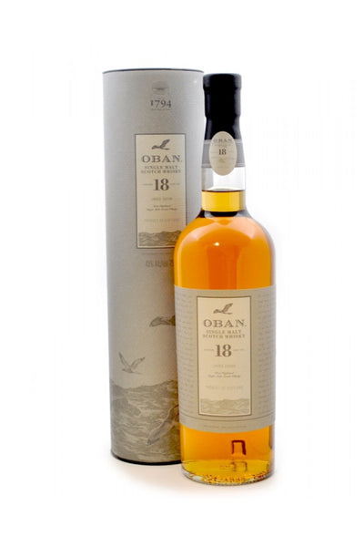 Oban 18 Year Old West Highland Single Malt Scotch Whisky 750mL - The Corkery Wine & Spirits