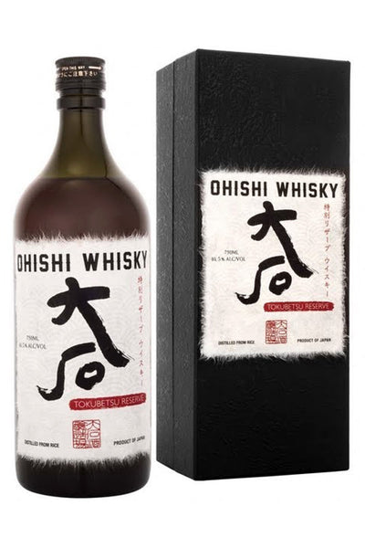 Ohishi Distillery, Tokubetsu Reserve Whisky, Japan 750mL
