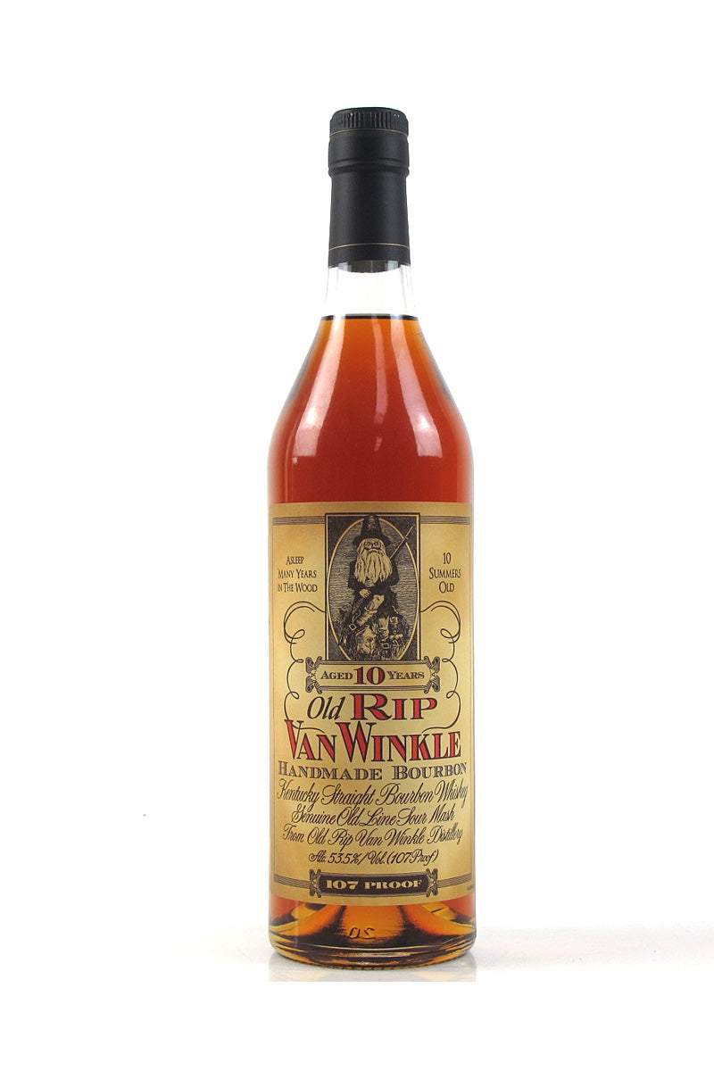 10 Year Old Rip Van Winkle Handmade Bourbon, Kentucky - The Corkery Wine & Spirits