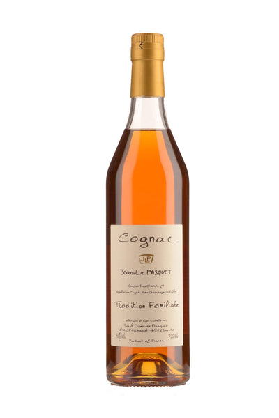 Jean-Luc Pasquet, Cognac Grande Champagne, Tradition Familiane, France (10-20 Yrs Old) 750mL - The Corkery Wine & Spirits