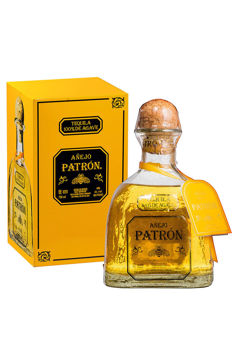 Patron Tequila Anejo, Mexico 750mL - The Corkery Wine & Spirits