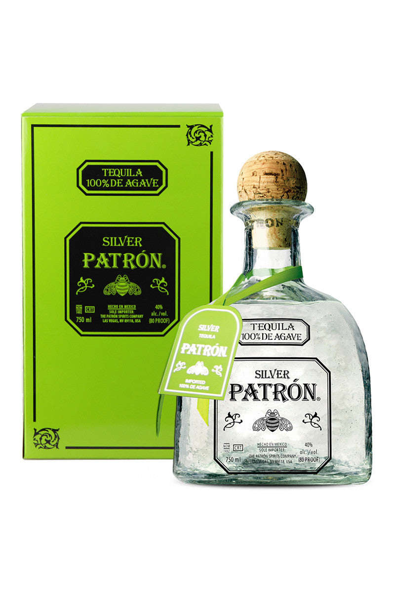 Patron Tequila Silver, Mexico 750mL - The Corkery Wine & Spirits
