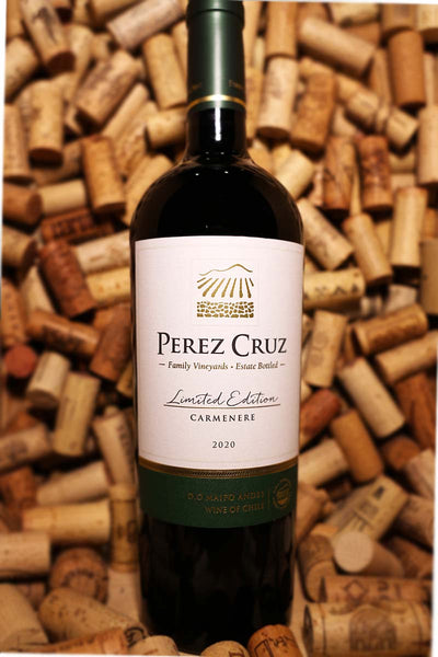 Perez Cruz Carmenere Limited Edition, Valle del Maipo, Chile 2017