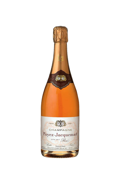 Ployez-Jacquemart Extra Brut Rosé Champagne, France NV 375ml - The Corkery Wine & Spirits