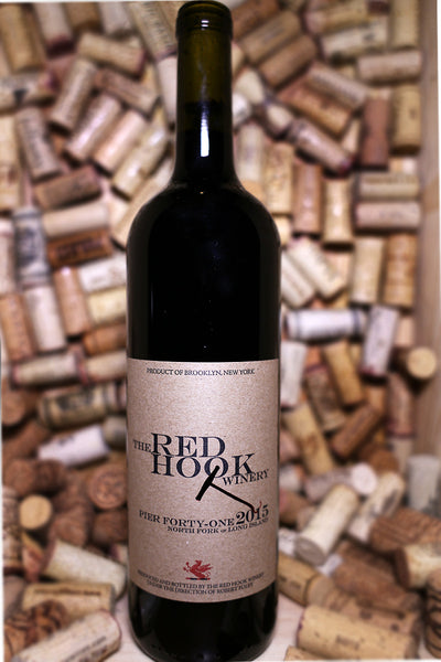 Red Hook Winery Pier 41 Red Blend, Long Island, NY 2015 - The Corkery Wine & Spirits