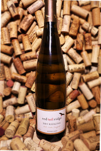 Red Tail Ridge Dry Riesling, Estate Vineyard Finger Lakes, NY 2017