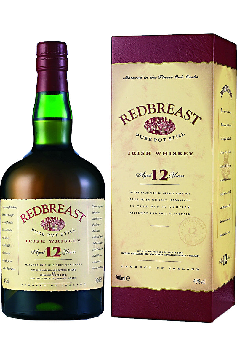 Redbreast 12 Year Irish Whiskey - The Corkery Wine & Spirits