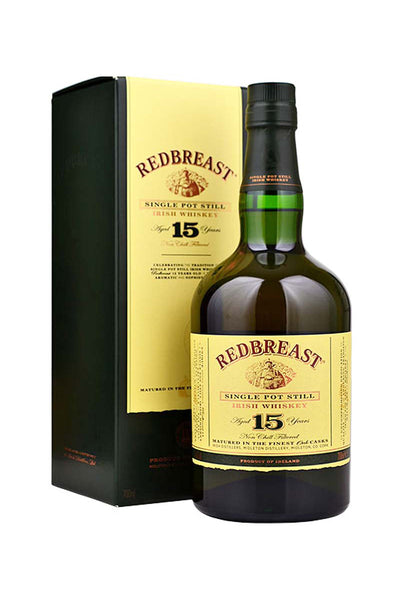 RedBreast 15 Year Single Pot Still Irish Whiskey 750mL